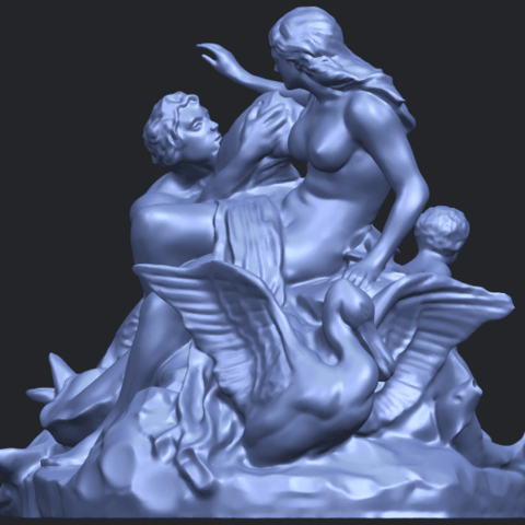 28_TDA0166_Naked_Couple_viB01.png Download free STL file  Naked Couple 06 • 3D printing object, GeorgesNikkei