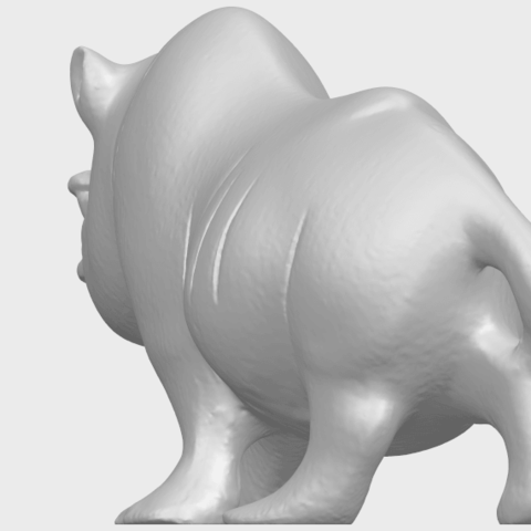 TDA0310_Rhinoceros_iiA03.png Download free STL file Rhinoceros 02 • 3D printing model, GeorgesNikkei