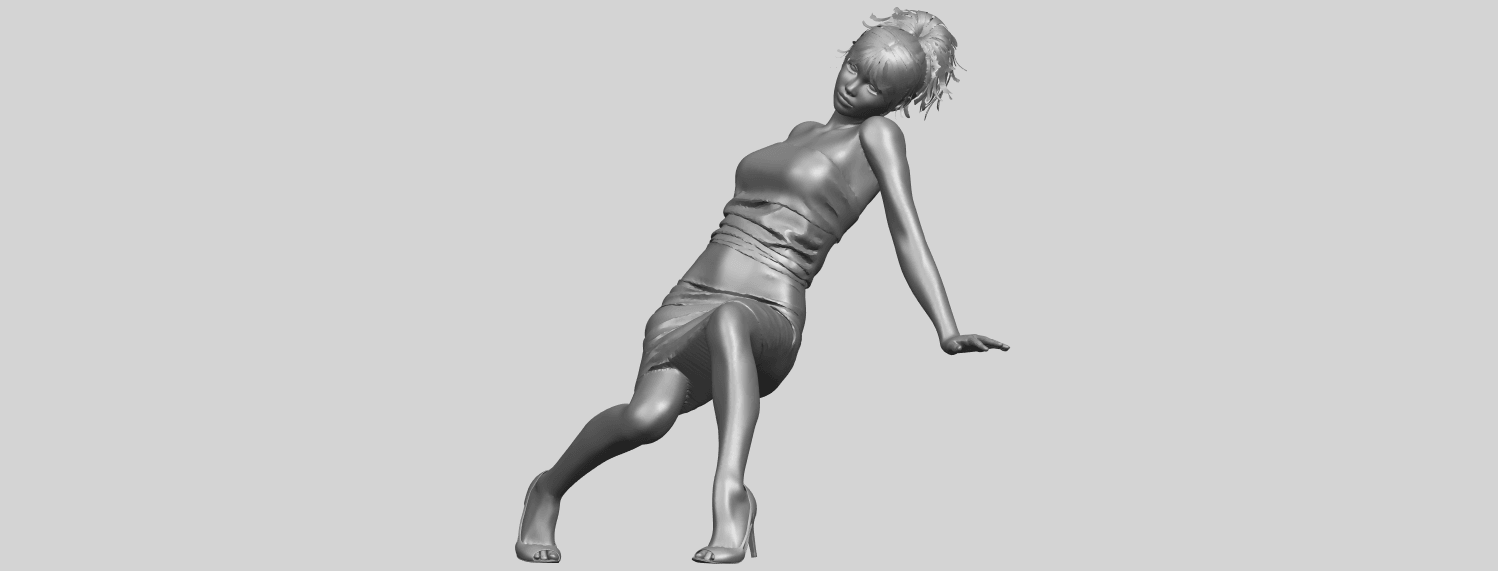 15_TDA0662_Naked_Girl_G10A02.png Download free STL file Naked Girl G10 • 3D printable template, GeorgesNikkei
