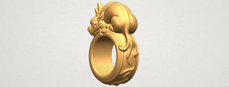 TDA0504 Pi Xiu Ring A02.png Download free STL file Pi Xiu Ring • Object to 3D print, GeorgesNikkei