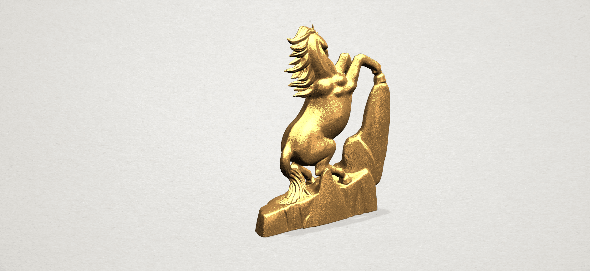 Horse - B04.png Download free STL file Horse 01 • 3D printing model, GeorgesNikkei