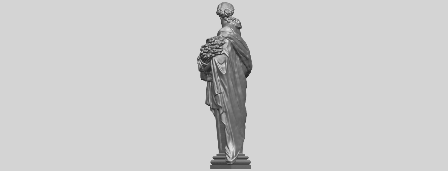 12_TDA0260_Sculpture_AutumnA05.png Download free STL file Sculpture - Autumn • 3D print template, GeorgesNikkei