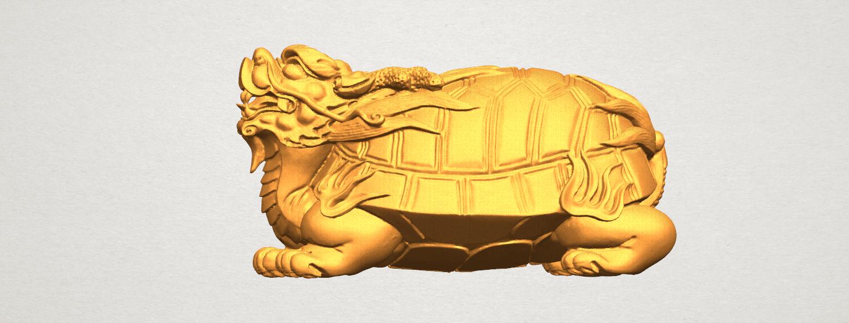 TDA0333 Dragon  Tortoise A01.png Télécharger fichier STL gratuit Tortue dragon • Objet imprimable en 3D, GeorgesNikkei