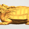 TDA0333 Dragon  Tortoise A01.png Download free STL file Dragon  Tortoise • Model to 3D print, GeorgesNikkei