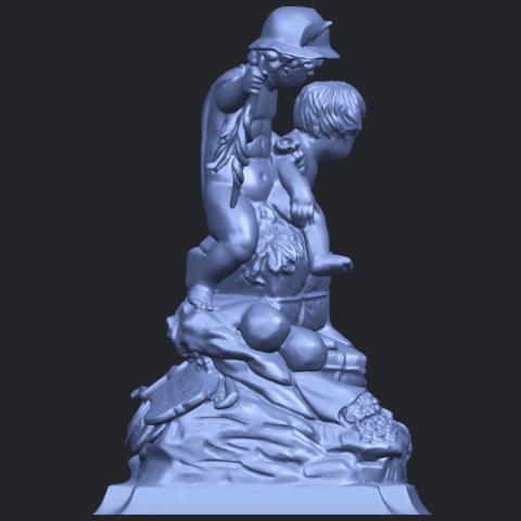 23_TDA0271_Two_kids_iiB09.png Télécharger fichier STL gratuit Deux enfants 02 • Design à imprimer en 3D, GeorgesNikkei