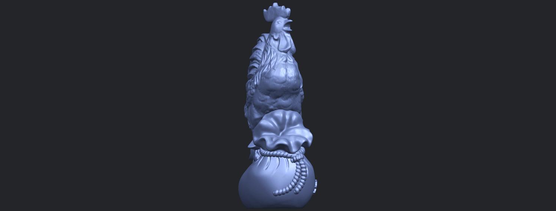 08_TDA0321_CockB09.png Télécharger fichier STL gratuit Coq 01 • Design pour impression 3D, GeorgesNikkei