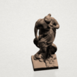 Download free 3D printing files Naked Girl with Goose, GeorgesNikkei