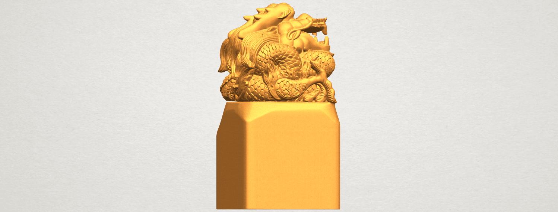 A06.png Télécharger fichier STL gratuit Timbre Dragon 01 • Objet à imprimer en 3D, GeorgesNikkei