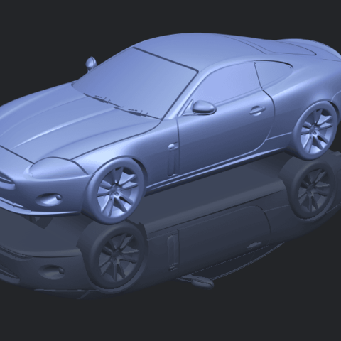 TDB003_1-50 ALLA00-1.png Download free STL file Jaguar X150 Coupe Cabriolet 2005 • 3D printing template, GeorgesNikkei