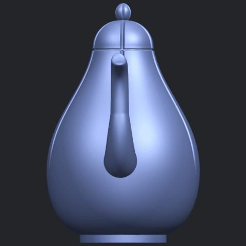 19_TDA0323_Tea_Pot_iiB09.png Download free STL file Tea Pot 02 • 3D printer template, GeorgesNikkei