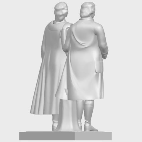 15_Goethe_schiller_80mmA08.png Télécharger fichier STL gratuit Goethe Schiller • Modèle imprimable en 3D, GeorgesNikkei