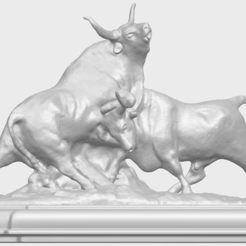 15_Bull_iii_74mm-A06.png Télécharger fichier STL gratuit Taureau 03 • Plan imprimable en 3D, GeorgesNikkei