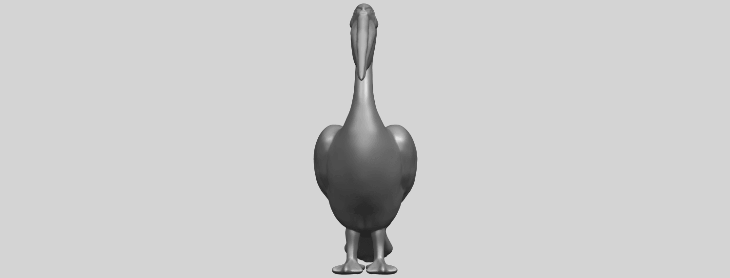 02_TDA0596_PelicanA09.png Download free STL file Pelican • 3D print model, GeorgesNikkei