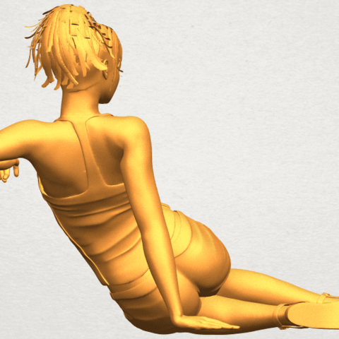 A07.png Download free STL file Naked Girl F08 • Object to 3D print, GeorgesNikkei