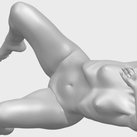 18_TDA0280_Naked_Girl_A07A05.png Download free STL file Naked Girl A07 • 3D printable template, GeorgesNikkei
