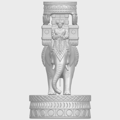 TDA0731_Elephant_08A01.png Download free STL file Elephant 08 • 3D printable template, GeorgesNikkei