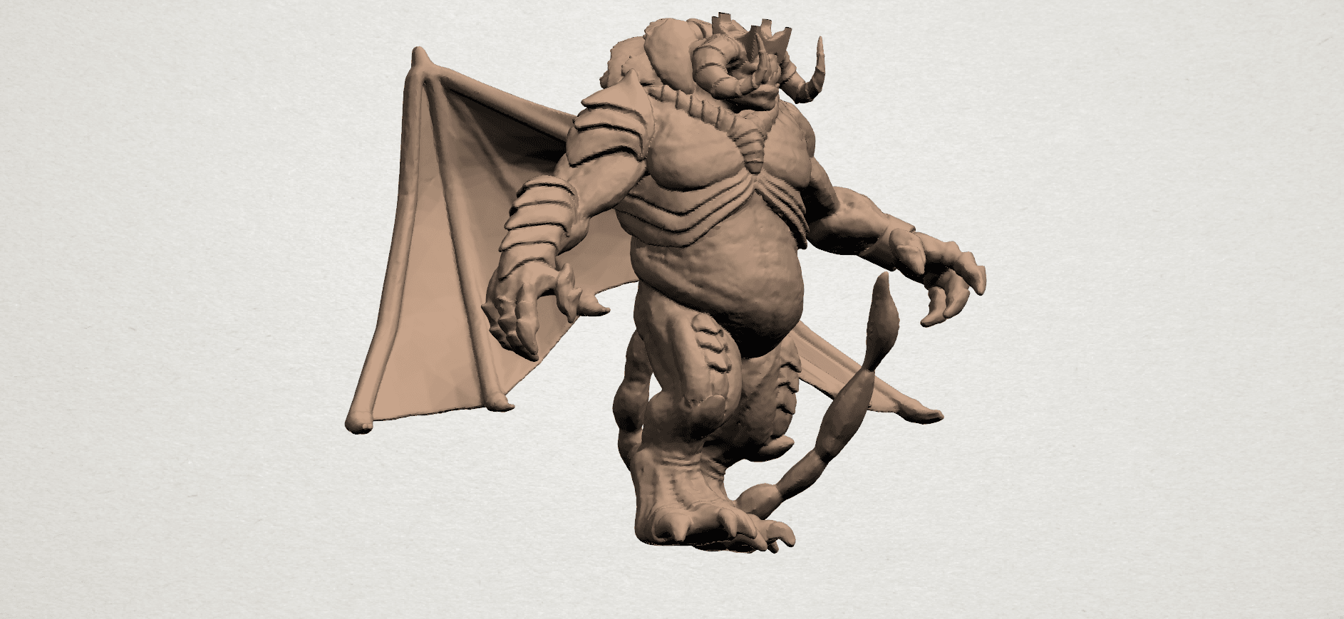Monster (i) A07.png Download free STL file Monster 01 • 3D printable template, GeorgesNikkei