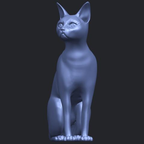 02_TDA0576_Cat_01B01.png Télécharger fichier STL gratuit Chat 01 • Modèle pour imprimante 3D, GeorgesNikkei