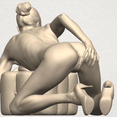 TDA0284 Naked Girl B01 06.png Télécharger fichier STL gratuit Fille nue B01 • Design à imprimer en 3D, GeorgesNikkei