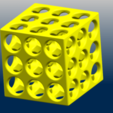 Download free STL files Necklace - Magic Cube, GeorgesNikkei