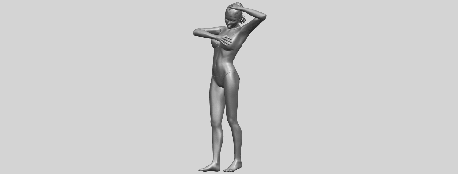 16_TDA0633_Naked_Girl_D03-A03.png Download free STL file Naked Girl D03 • 3D printing template, GeorgesNikkei