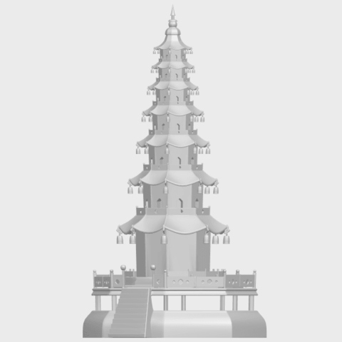 03_TDA0623_Chiness_pagodaA02.png Download free STL file Chiness pagoda • Design to 3D print, GeorgesNikkei