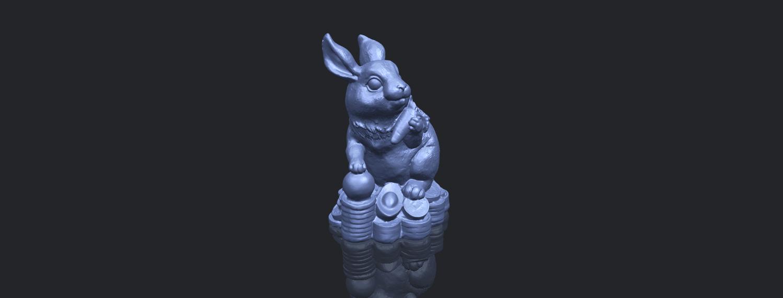 07_TDA0559_Rabbit_02B00-1.png Télécharger fichier STL gratuit Lapin 02 • Design imprimable en 3D, GeorgesNikkei