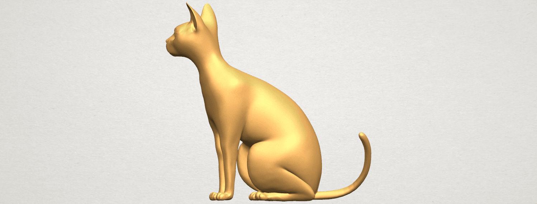 TDA0576 Cat 01 A03.png Télécharger fichier STL gratuit Chat 01 • Modèle pour imprimante 3D, GeorgesNikkei