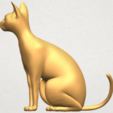 TDA0576 Cat 01 A03.png Download free STL file Cat 01 • Design to 3D print, GeorgesNikkei