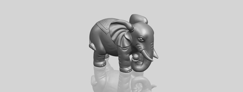 Elephant_03_-122mmA00-1.png Télécharger fichier STL gratuit Éléphant 03 • Modèle imprimable en 3D, GeorgesNikkei