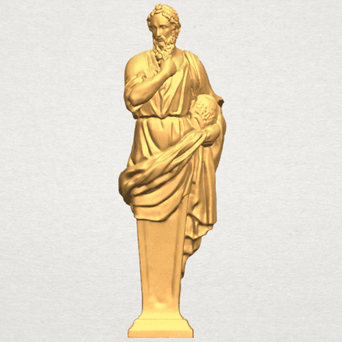 TDA0460 Plato A01.png Download free STL file Plato • 3D printing template, GeorgesNikkei