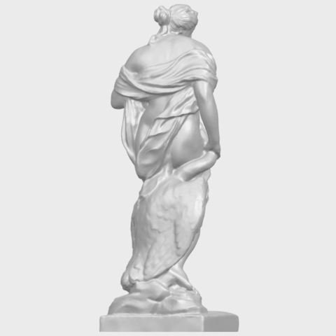 25_TDA0173_Naked_Girl_with_Goose_88mmA07.png Download free STL file Naked Girl with Goose • 3D print template, GeorgesNikkei