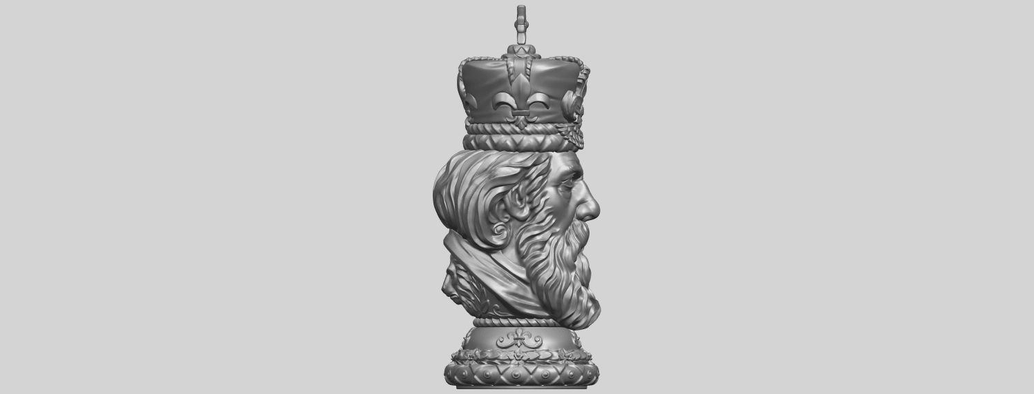 06_TDA0254_Chess-The_KingA09.png Download free STL file Chess-The King • 3D printer model, GeorgesNikkei