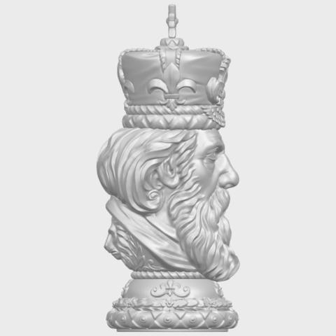 06_TDA0254_Chess-The_KingA09.png Télécharger fichier STL gratuit Chess-Le roi des échecs • Objet pour impression 3D, GeorgesNikkei