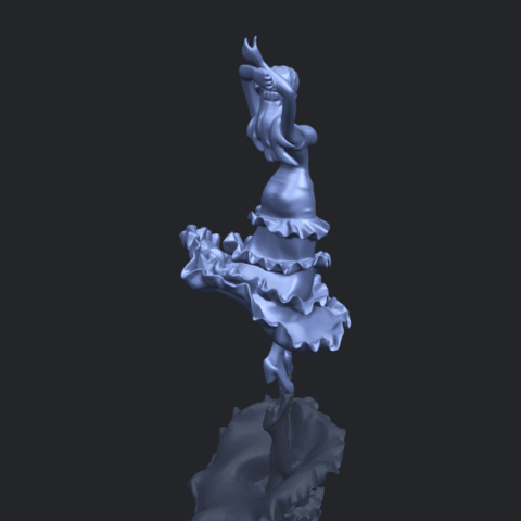 23_Girl_with_Dress_80mm-B00-1.png Download free STL file Girl with Dress • Object to 3D print, GeorgesNikkei