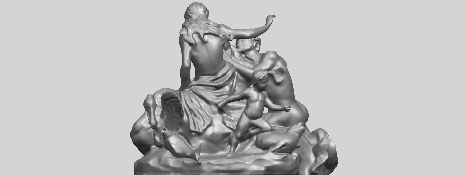 28_TDA0166_Naked_Couple_viA04.png Download free STL file  Naked Couple 06 • 3D printing object, GeorgesNikkei