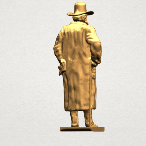 Sculpture of a man A05.png Download free STL file Sculpture of a man 02 • Object to 3D print, GeorgesNikkei