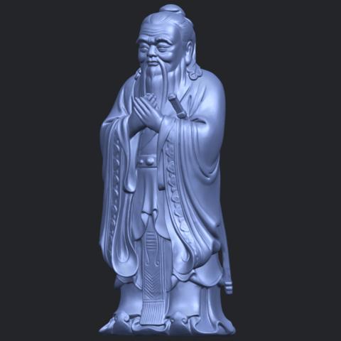 13_TDA0341_ConfuciusB02.png Download free STL file Confucius • 3D printable model, GeorgesNikkei