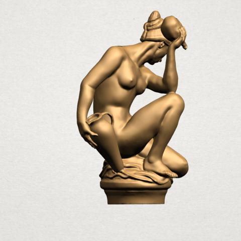 Naked Girl - With Pot - A08.png Télécharger fichier STL gratuit Fille Nue - Avec Pot • Modèle à imprimer en 3D, GeorgesNikkei