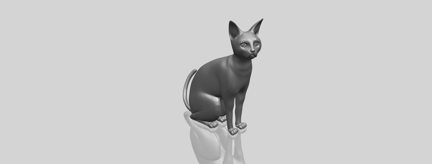 02_TDA0576_Cat_01A00-1.png Download free STL file Cat 01 • Design to 3D print, GeorgesNikkei