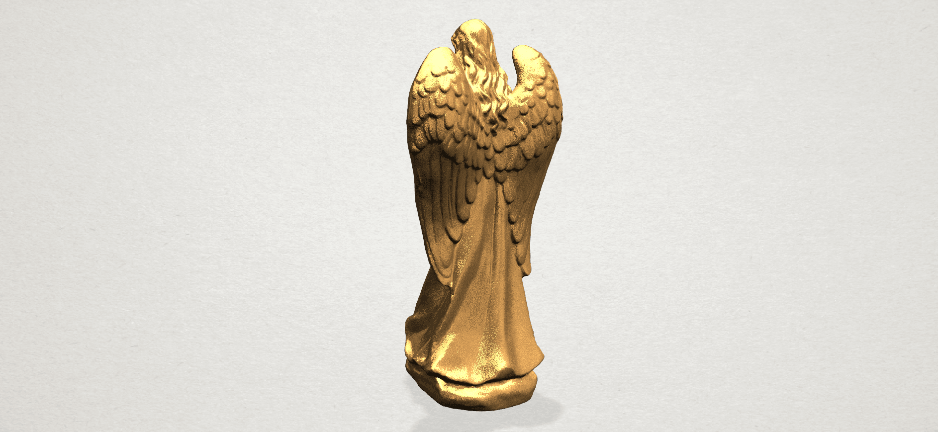 Angel A03.png Download free STL file Angel 01 • 3D printer object, GeorgesNikkei