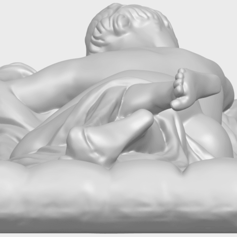 01_Naked_Body_Lying_on_Bed_ii_31mmA09.png Download free STL file Naked Girl - Lying on Bed 02 • Object to 3D print, GeorgesNikkei