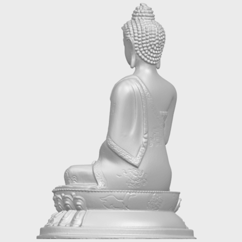 15_TDA0173_Thai_Buddha_(iii)_88mmA05.png Download free STL file Thai Buddha 03 • 3D printing object, GeorgesNikkei