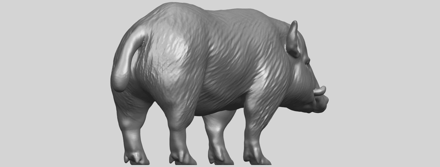 13_TDA0320_Pig_ii_A05.png Download free STL file Pig 02 • 3D printable object, GeorgesNikkei