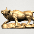 Download free 3D printer model Chinese Horoscope 02 Bull, GeorgesNikkei