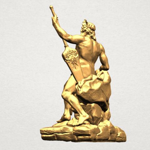 Naked Warrior A03.png Télécharger fichier STL gratuit Guerrier nu • Plan pour impression 3D, GeorgesNikkei