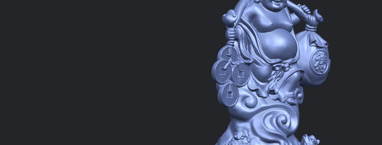 09_TDA0329_Metteyya_Buddha_09A10.png Télécharger fichier STL gratuit Bouddha Metteyya 09 • Modèle imprimable en 3D, GeorgesNikkei