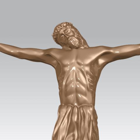TDA0230 Jesus (iii) A06.png Download free STL file Jesus 03 • 3D printable template, GeorgesNikkei