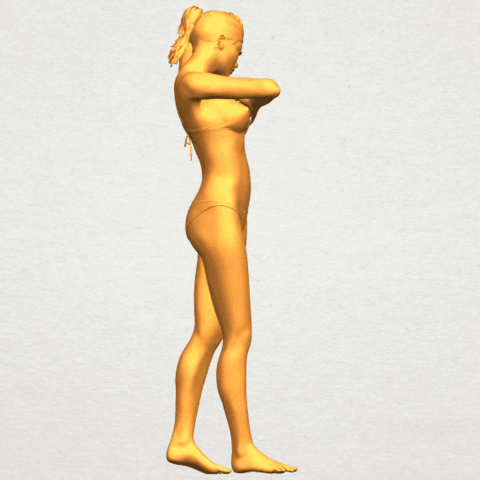 07.png Download free STL file Naked Girl D03 • 3D printing template, GeorgesNikkei