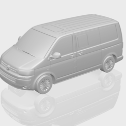 Descargar STL gratis VW T5 GP Multivan, GeorgesNikkei
